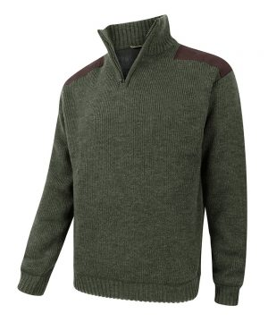 The Rantin Robin Hoggs of Fife Hebrides Zip Neck Windproof Pullover