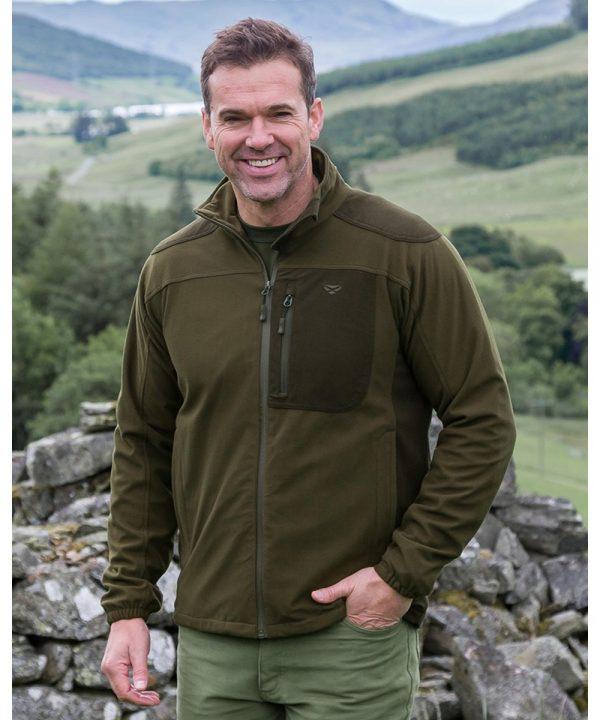 The Rantin Robin Hoggs of Fife Kinross Field Jacket Model