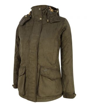 The Rantin Robin Hoggs of Fife Rannoch Ladies Waterproof Hunting Jacket