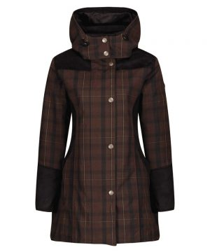 The Rantin Robin Welligogs Odette Wax Check Jacket