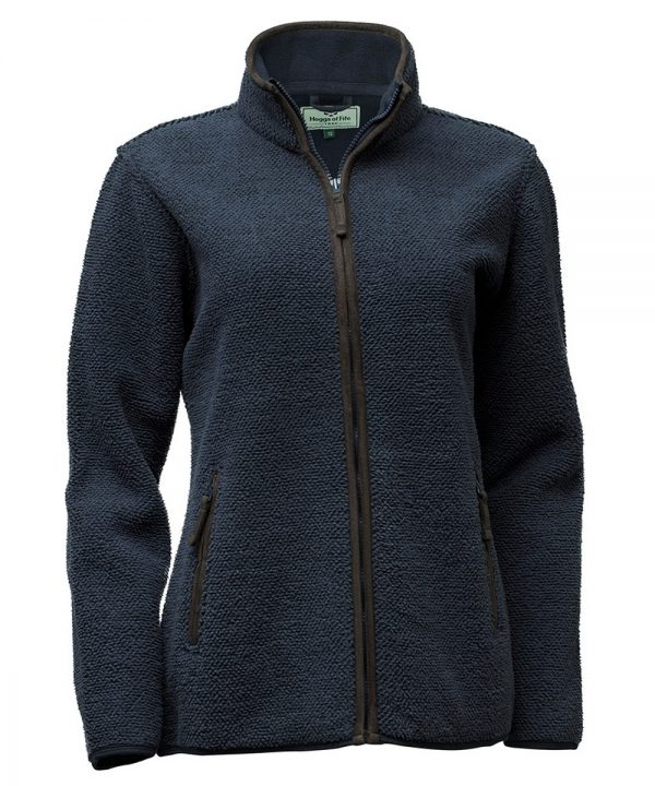 The Rantin Robin Hoggs of Fife Sussex Ladies Tufted Fleece Jacket