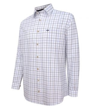 The Rantin Robin Hoggs of Fife Viscount Premier Tattersall Shirt