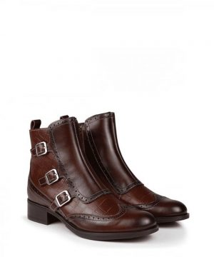 The Rantin Robin Welligogs Chestnut Leather Chelsea Boots