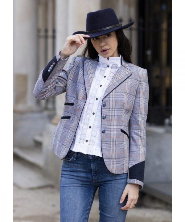 The Rantin Robin Welligogs Windsor Fitted Jacket Model