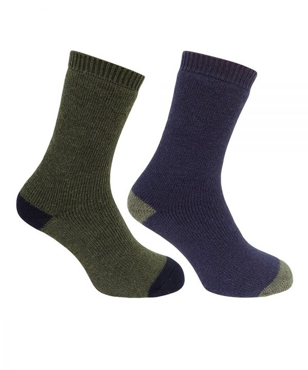 The Rantin Robin Hoggs of Fife Country Short Socks Navy