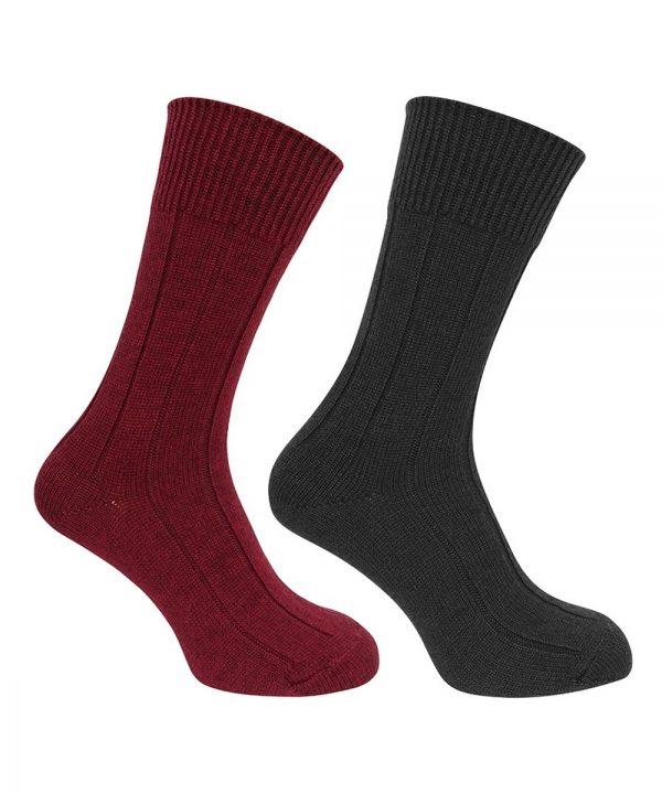 The Rantin Robin Hoggs of Fife Merino Brogue Socks