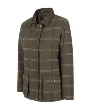 The Ranit Robin Musselburgh Ladies Tweed Field Coat