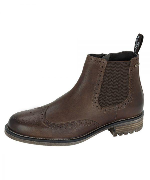 The Rantin Robin Dunbeg Waterproof Side Zip Dealer Boots