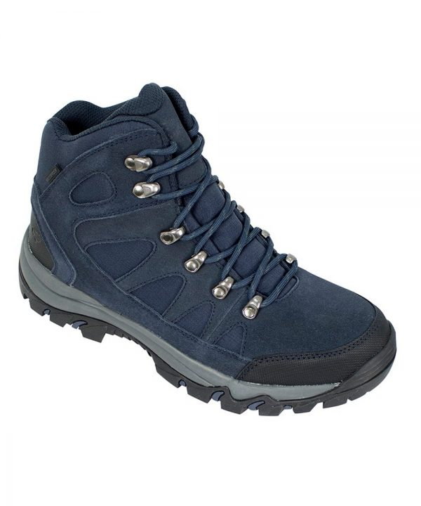 The Rantin Robin Nevis Waterproof Hiking Boots Navy Colour