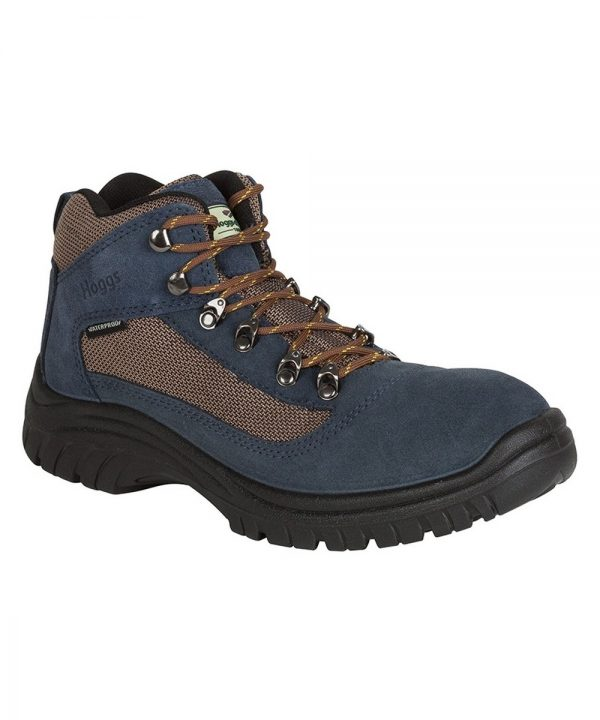 The Rantin Robin Rambler Waterproof Hiking Boots Navy Colour
