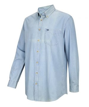 The Rantin Robin Archerfield Light Denim Shirt