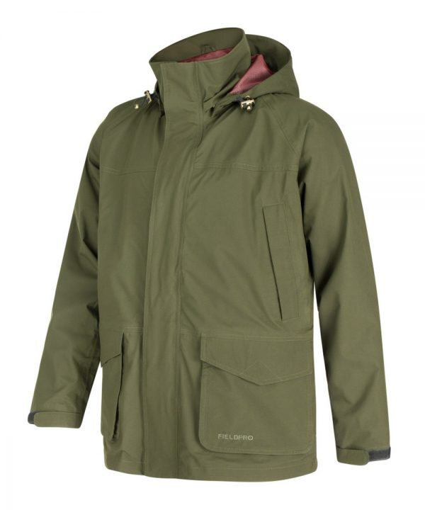 The Rantin Robin Culloden Waterproof Jacket Front View