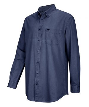 The Rantin Robin Archerfield Dark Denim Shirt
