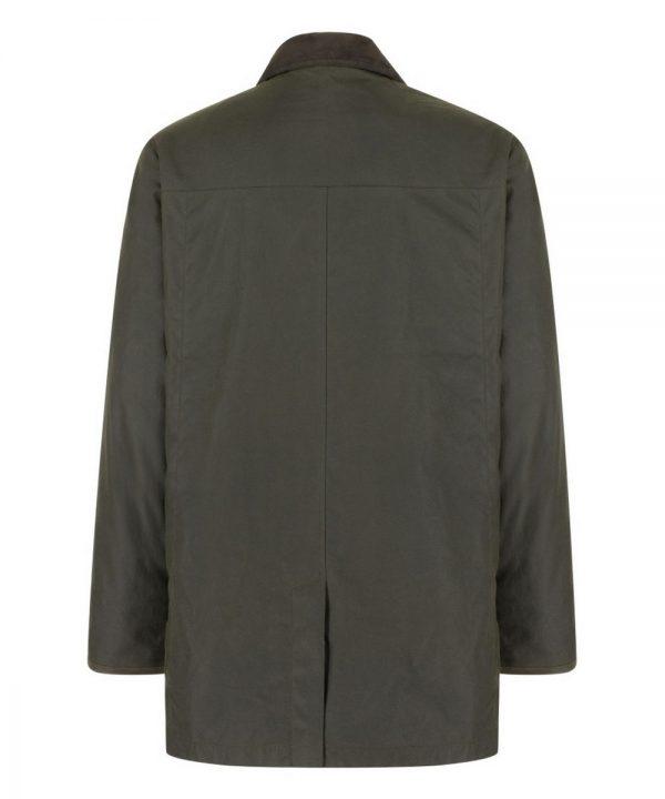 The Rantin Robin Caledonia Mens Waxed Jacket Back View