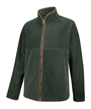 The Rantin Robin Stenton Technical Fleece Jacket Green Colour