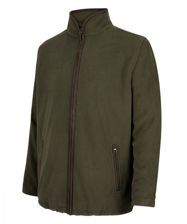 The Rantin Robin Woodhall Fleece Jacket Green Colour