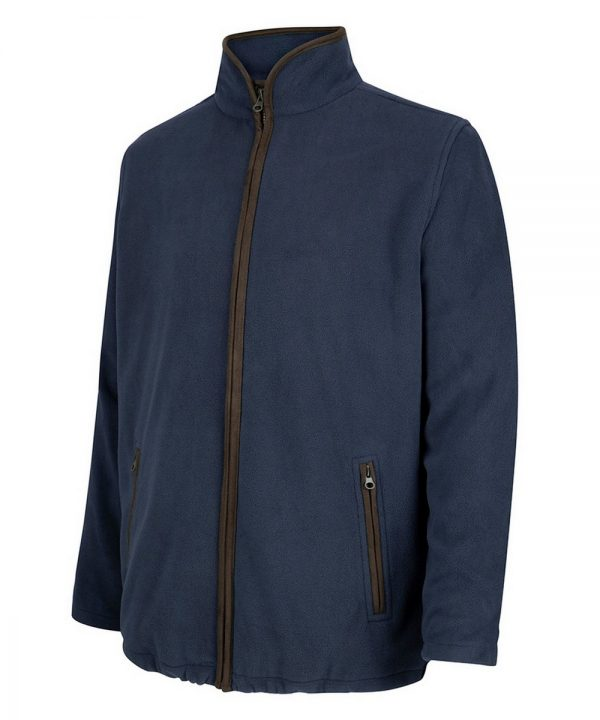 The Rantin Robin Woodhall Fleece Jacket Navy Colour